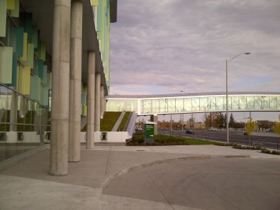 Woodroffe Pedestrian Bridge